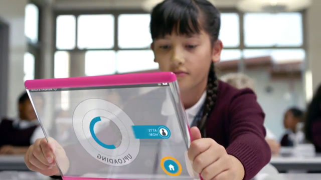 Classroom Tablets - A day made of glass by Corning Inc.